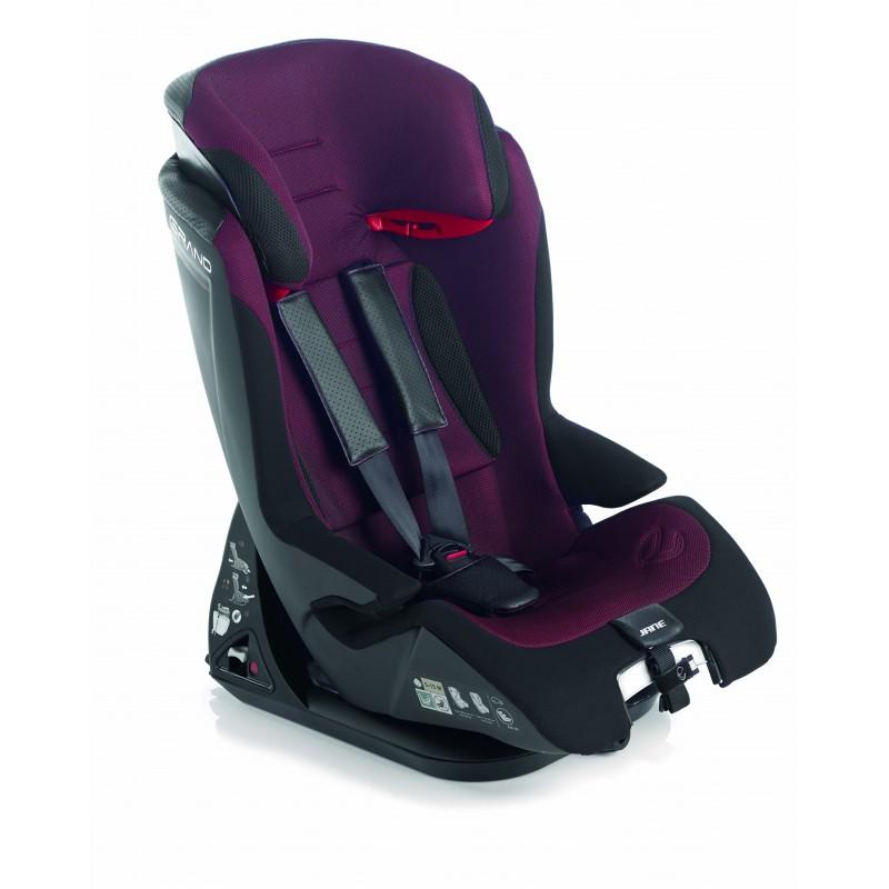 Jane silla grand 1 2 3 red jane for Silla de auto 6 anos