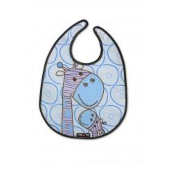 Babero Giraffes azul Tris&Ton