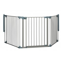 Barrera modular gate 3 paneles grey Safe