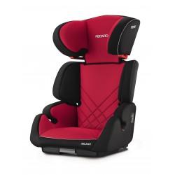 Silla de auto Milano Seatfix Negro Rojo