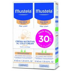 Pack 2 Crema nutritiva cold cream 2x40ml