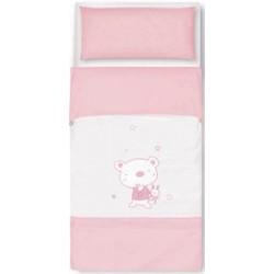 Pirulos Saco nórdico 60 Osito Star rosa