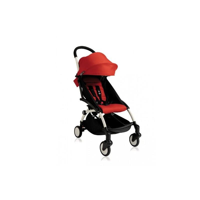 Silla paseo yoyo blanco red babyzen babyzen for Silla bebe 6 meses