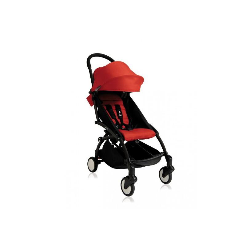 Silla paseo yoyo negra red babyzen babyzen for Silla bebe 6 meses