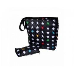 Bolso new baby stroller bag Stars black