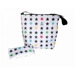 Bolso new baby stroller bag Stars White