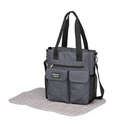 BOLSO MICROFIBRA CARRY DENIM GRIS