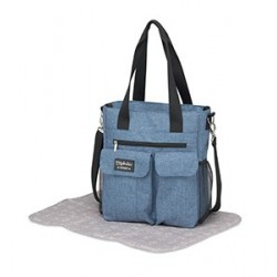 BOLSO MICROFIBRA CARRY DENIM TURQUESA