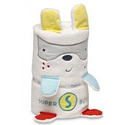 Manta toys microfibra Superheroe