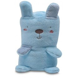 Manta toys microfibra Forest azul