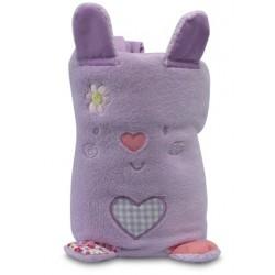 Manta toys microfibra Picnic lila