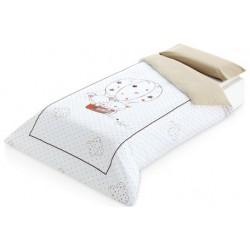 Funda nórdica cama 90 Globo beig