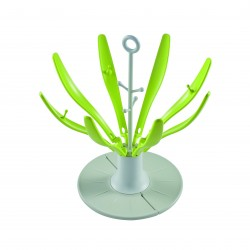 Escurrebiberones plegable Flower Neon
