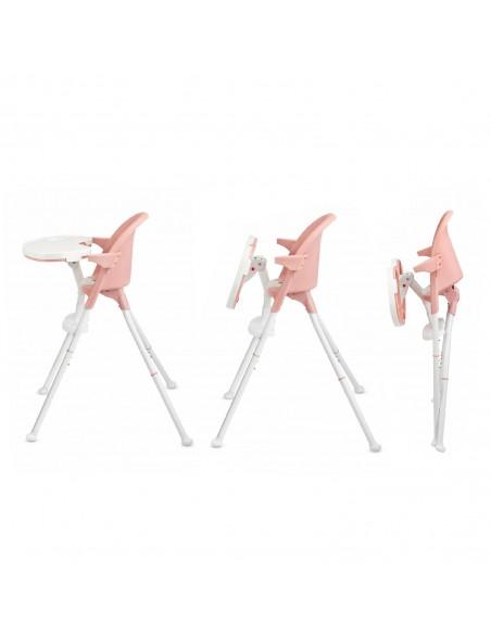 Kinderkraft trona PINI 2 en 1 rosa