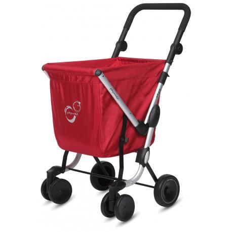 Carro de la compra WE GO Rojo