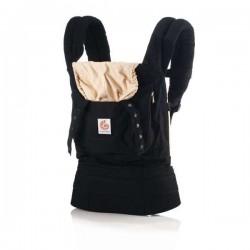 Ergobaby portabebé original negro/camel