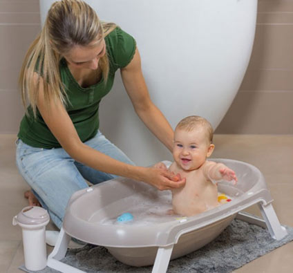 Bañar a tu bebé