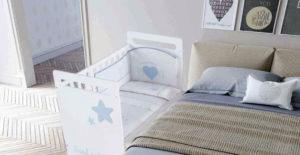 Cunas colecho, la forma de estar más cerca de tu bebé al dormir
