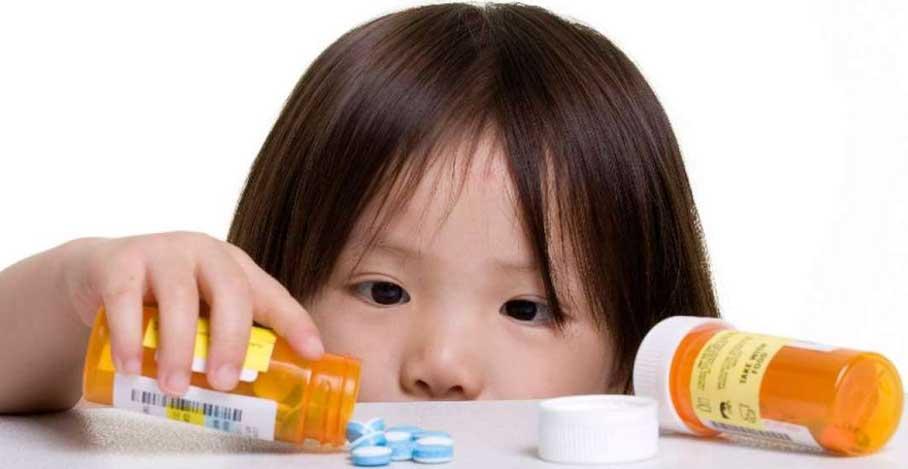 Seguridad niños y medicamentos