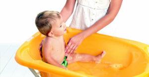 Bañeras para que los bebés sean felices en el agua