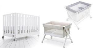 Cuna, minicuna y moisés, ¿dónde dormirá mejor nuestro bebé?