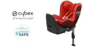 Sirona Z, la silla de coche para bebés con plataforma 360
