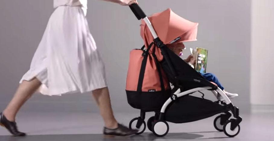 Seguridad pasear cochecito bebé